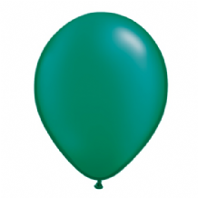 "Qualatex 11 inch Balloons - Pearl Emerald Green 11"" Balloons (Radiant 25pcs)"